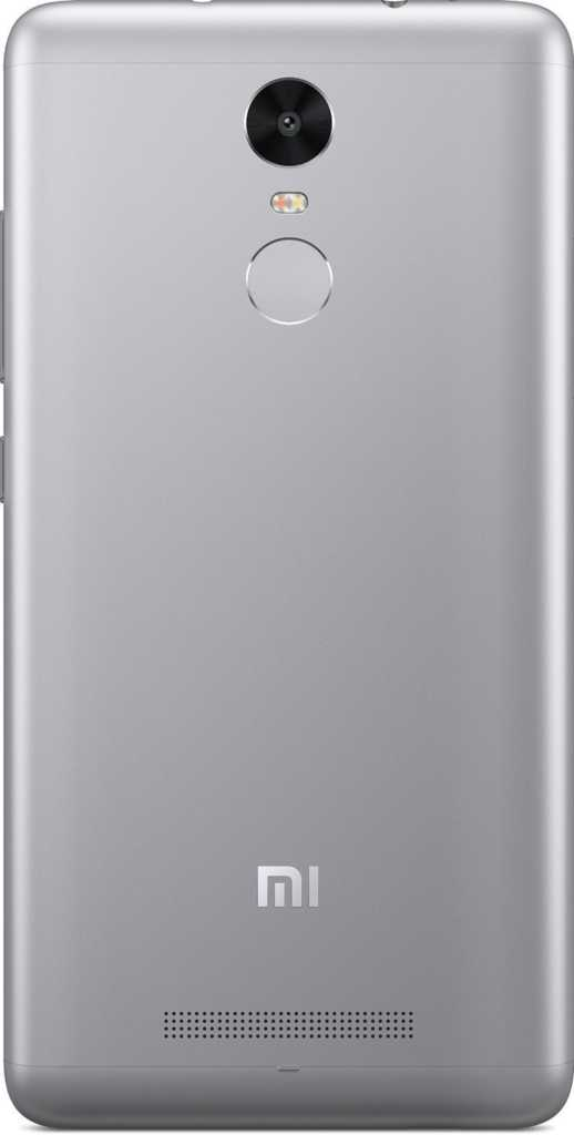 Xiaomi Redmi Note 3 dark back