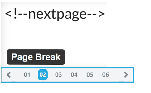 page-break-next-button-wordpress