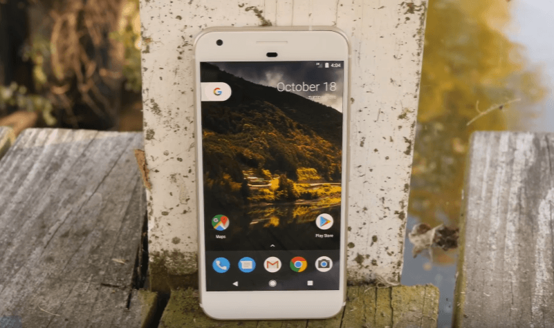 Google Pixel 2 review fornt