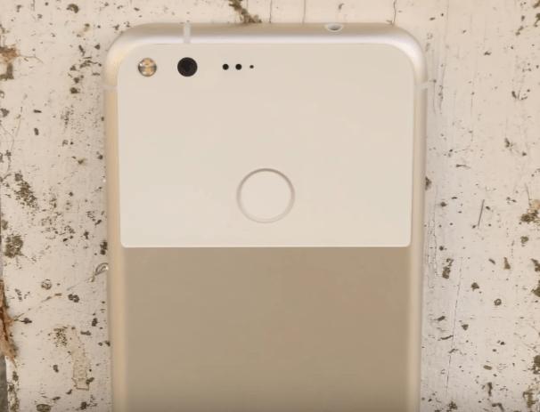 Google Pixel glass chunk