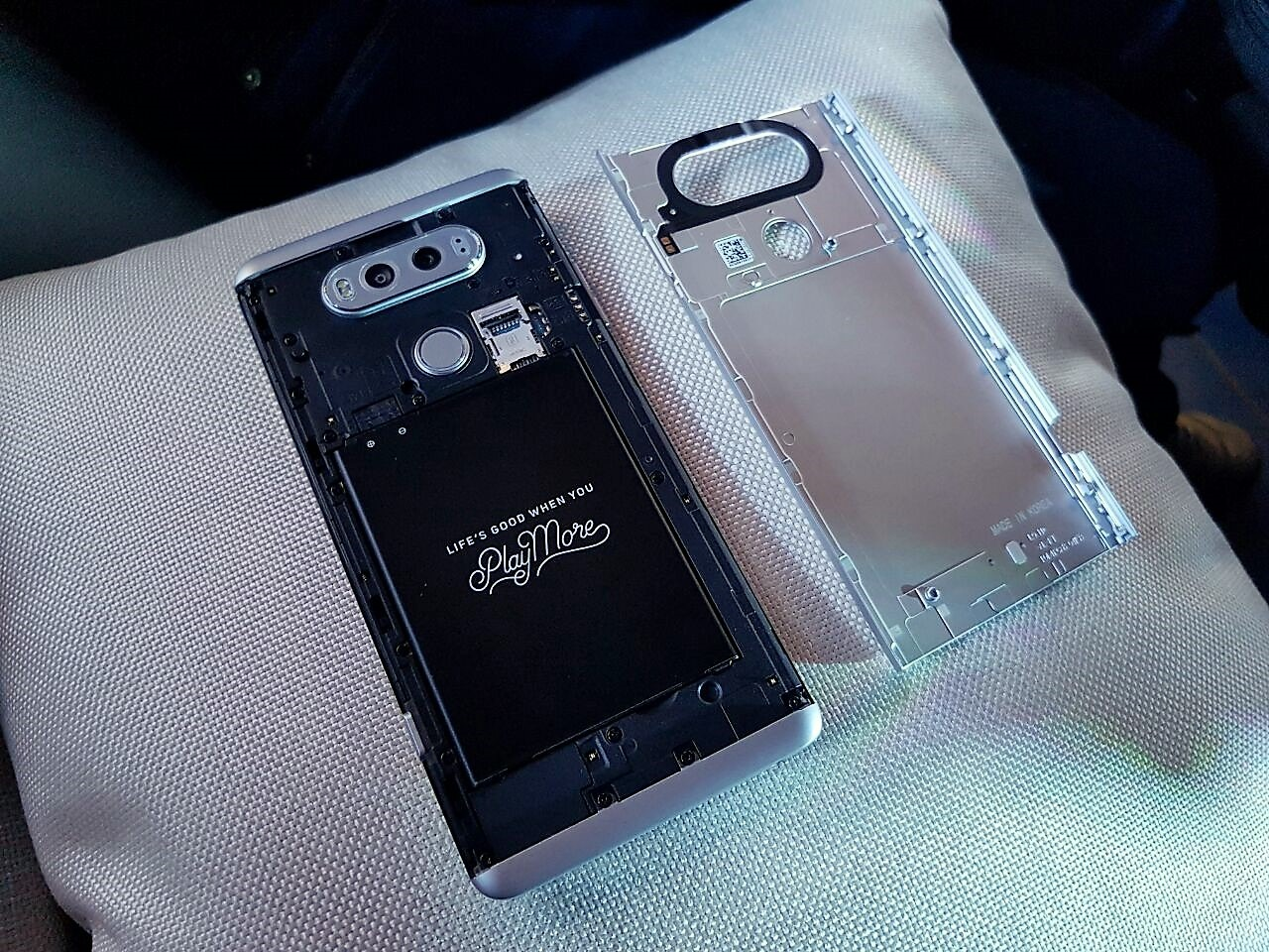 LG V20 -battery