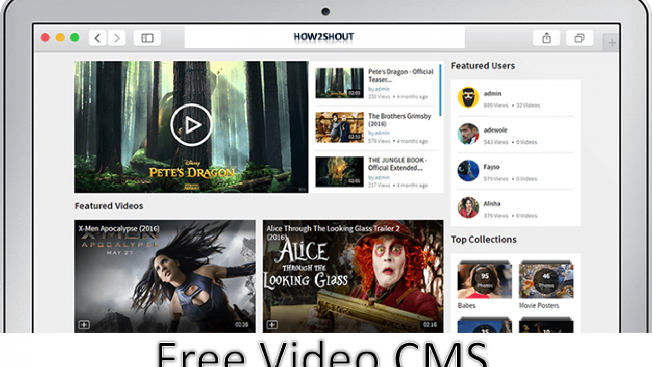 Open source Video CMS For Sharing Videos: 5 Free & Best