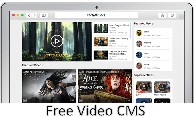 Open Source Video Cms For Sharing Videos 5 Free Amp Best