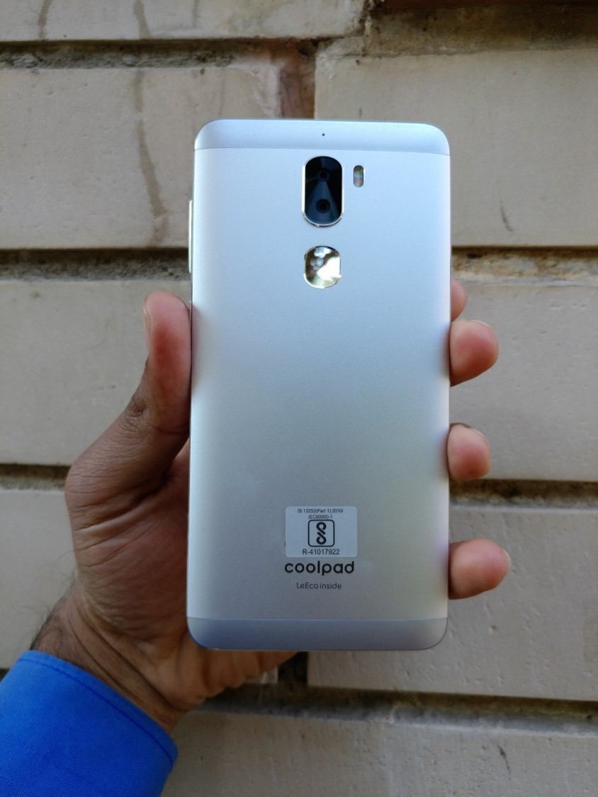 Coolpad cool 1 Leeco backside