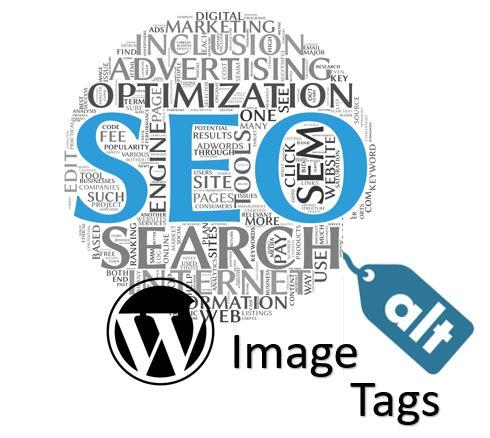 Image Alt Tags Error in WordPress