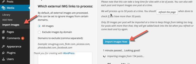 Import-WordPress.com images