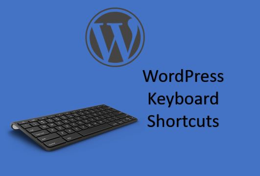 Keyboard shortcuts for WordPress