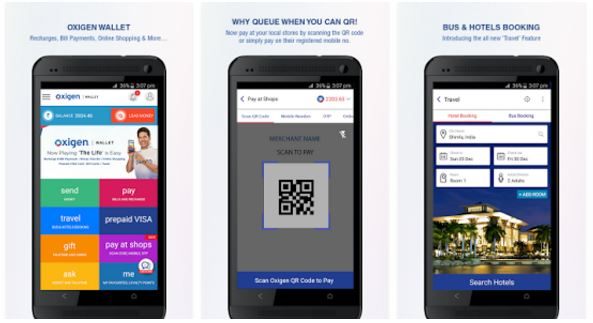 OXigen wallet app mobile payments