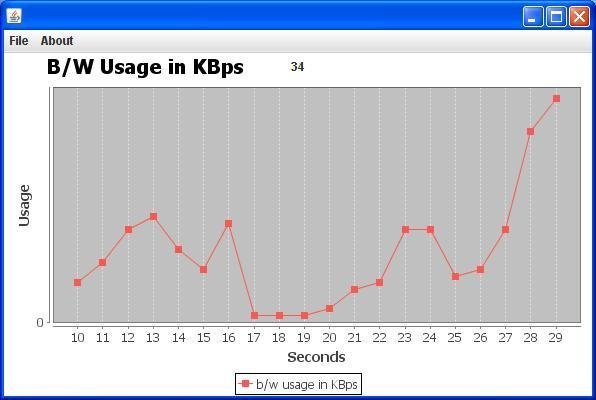 Internet Bandwidth Monitor(IBM)