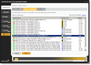SolarWinds-Real-Time-Bandwidth-Monitor-Selecting-an-interface-to-monitor