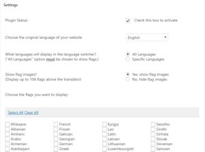 languages wordpress transalter