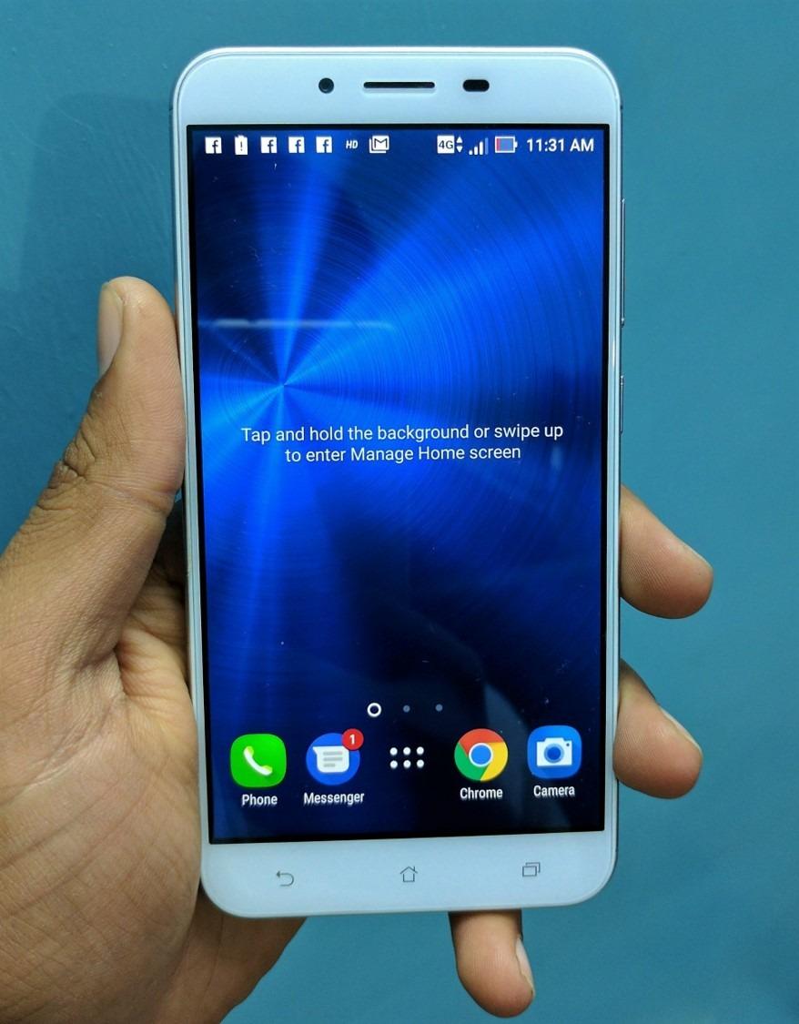 sus zenfone 3 max (zc553kl) review asus zenfone 3 max review,asus zenfone 3 max zc553kl front display