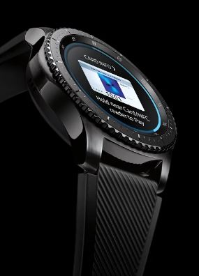 Samsung pay on Gear S3