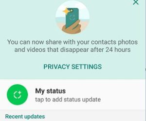 How to Use New Whatsapp Status Feature