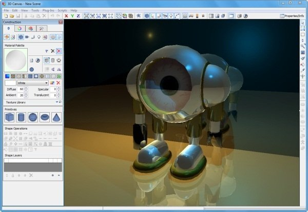 3DCrafter free cad software