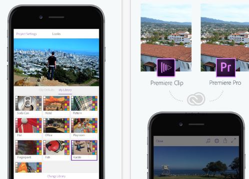 Adobe Premiere Clip Create, edit share videos