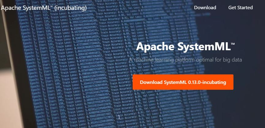 Apache SystemML machine learning using big data on the driver or an Apache Spark cluster