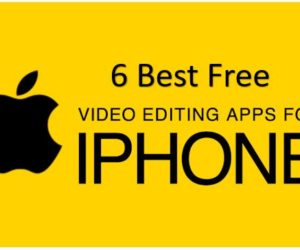 6 Best Free iPhone Video Editing Apps