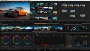 DaVinvi Resolve Free video editing software