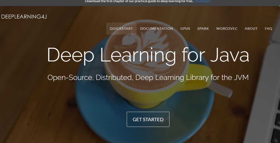 Deep Learning for Java Open-Source, Distributed, Deep Learning Library for the JVM