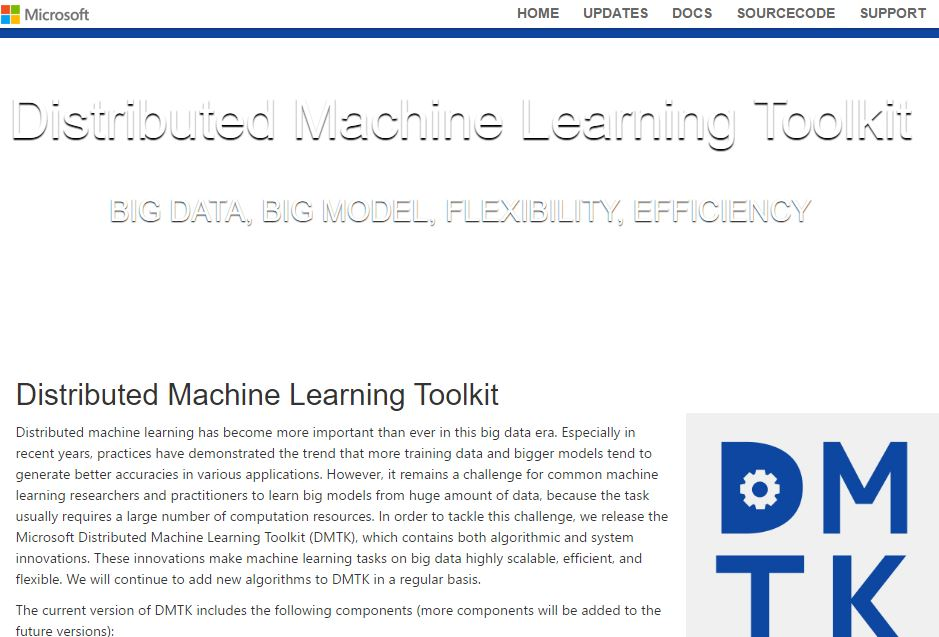 Distributed Machine Learning Toolkit BIG DATA, BIG MODEL, FLEXIBILITY, EFFICIENCY
