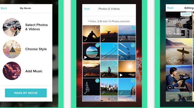Magisto Video Editor Movie Maker- video editing apps