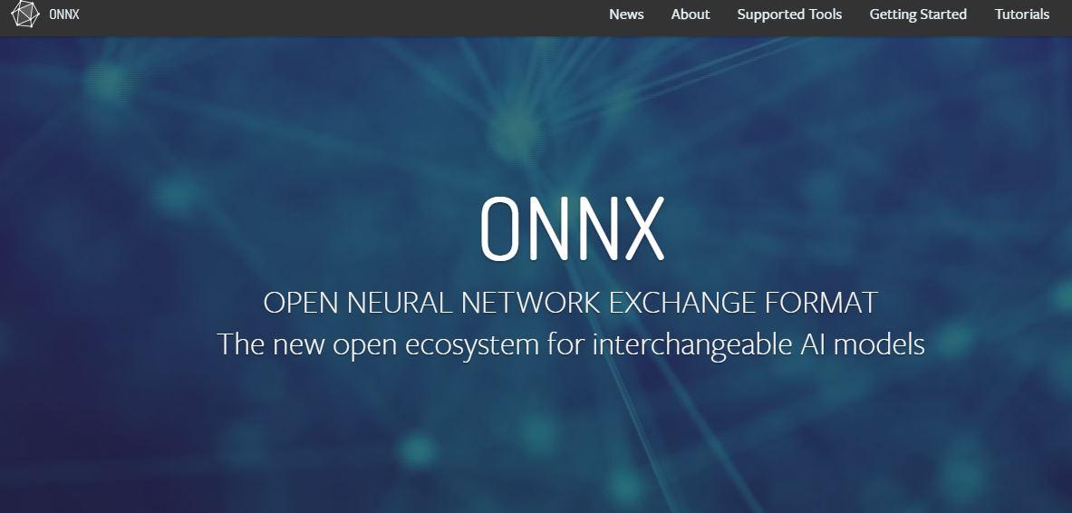 ONNX- Open Neural Network Exchange