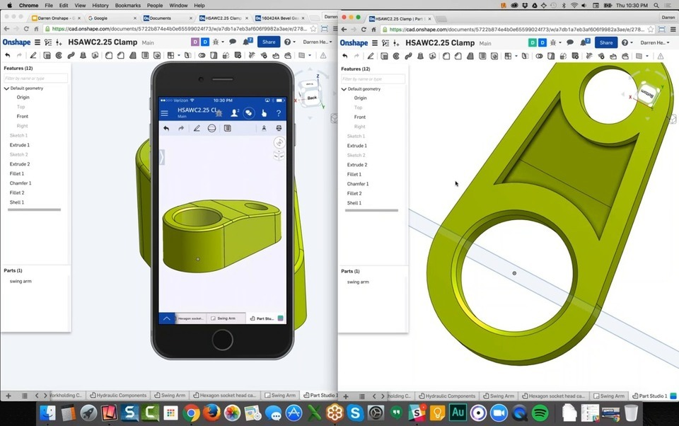 Onshape Full Cloud Cad Free Online