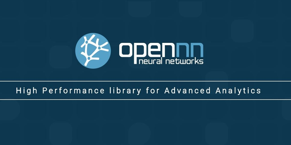 OpenNN opensource AI High Performance library for Advanced Analytics