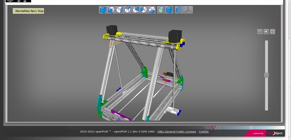OpenPLM free and Open source CAD Software program