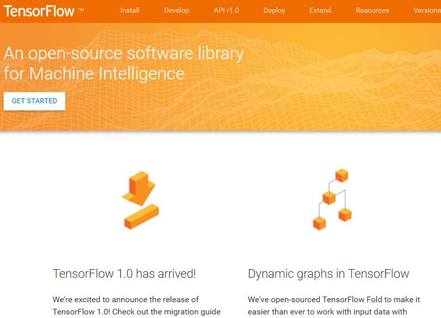 Tensflow Openmsource AI tools