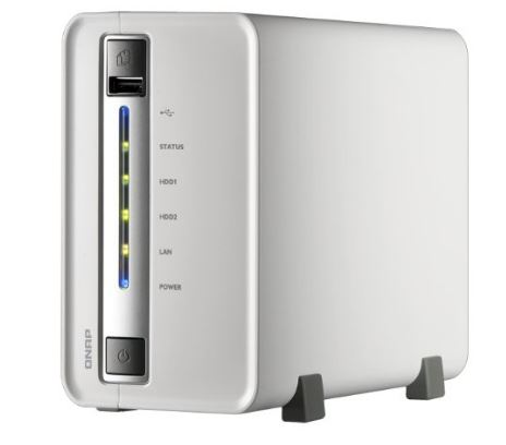 Qnap TS-212P 2-Bay DLNA Personal Cloud Network Attached Storage