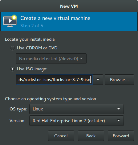 Rockstor On Debian in Virtual Machine os