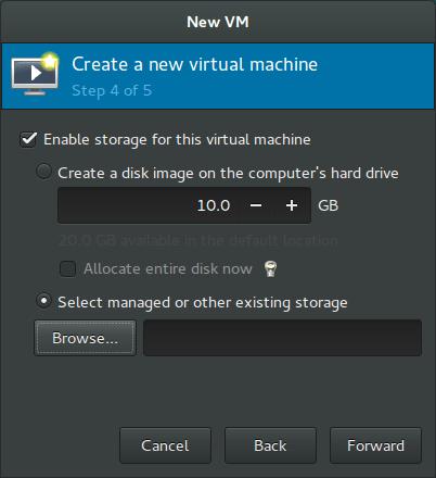 Rockstor On Debian in Virtual Machine system disk