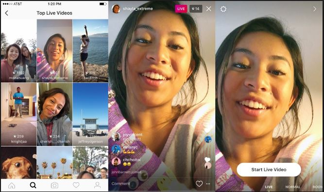 Instagram 24 hour live Video Replays social media