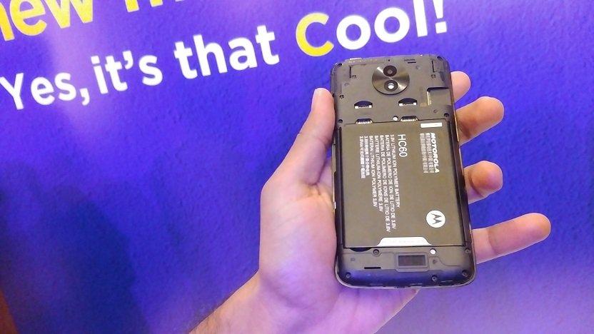 Moto C Plus back cover