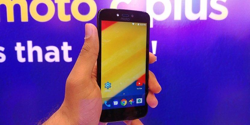 Moto C Plus budget smartphone