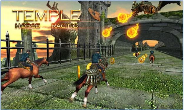 Temple Horse Racig game android