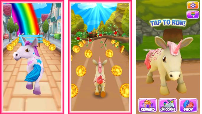 Unicorn Runner 3D – Horse Run