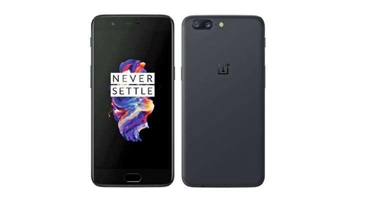 oneplus5 smartphone