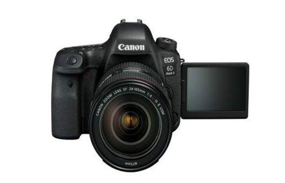 Canon Launches Full Frame EOS 6D Mark II DSLR Camera
