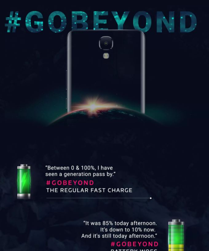 Flipkart Teases a Battery Focused Smartphone Gobeyond