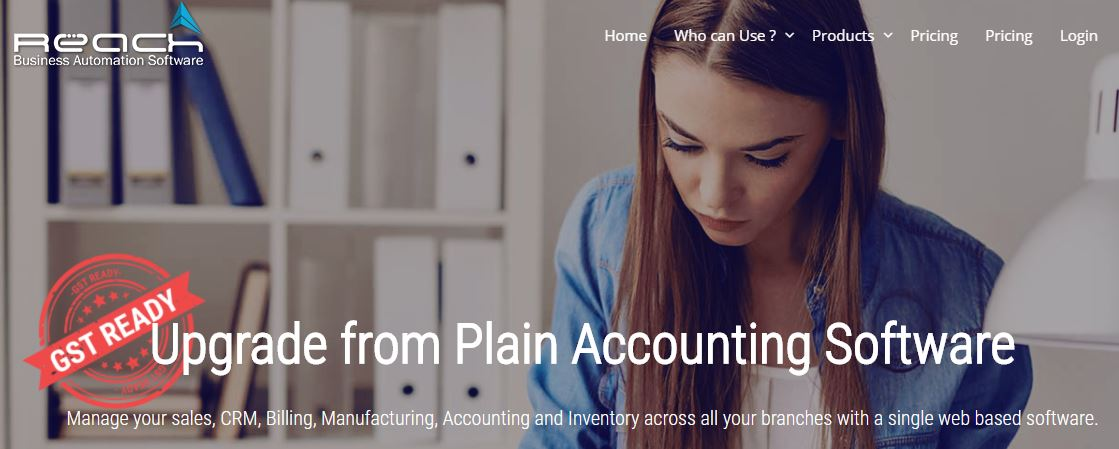 Rach Accounting software for GST in india