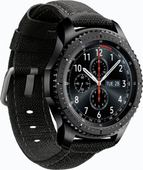 Samsung Gear S3 Tumi Edition smartwatch
