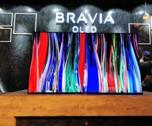 Sony Launches One Slate A1 Bravia series KD-65A1 & KD-55A1 OLED TVs