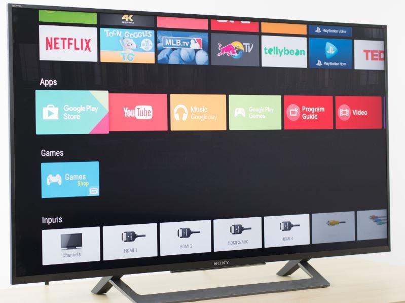 Sony X800D 4K TVs Smart tv