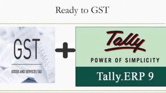 Tally ERp 9 GST ready