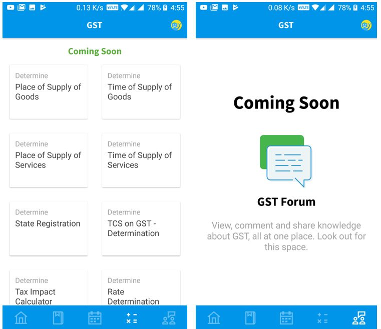 gst registration app clear tax in india