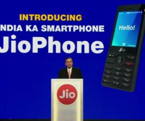 Reliance Jio Phone Launched in India at Rs Zero