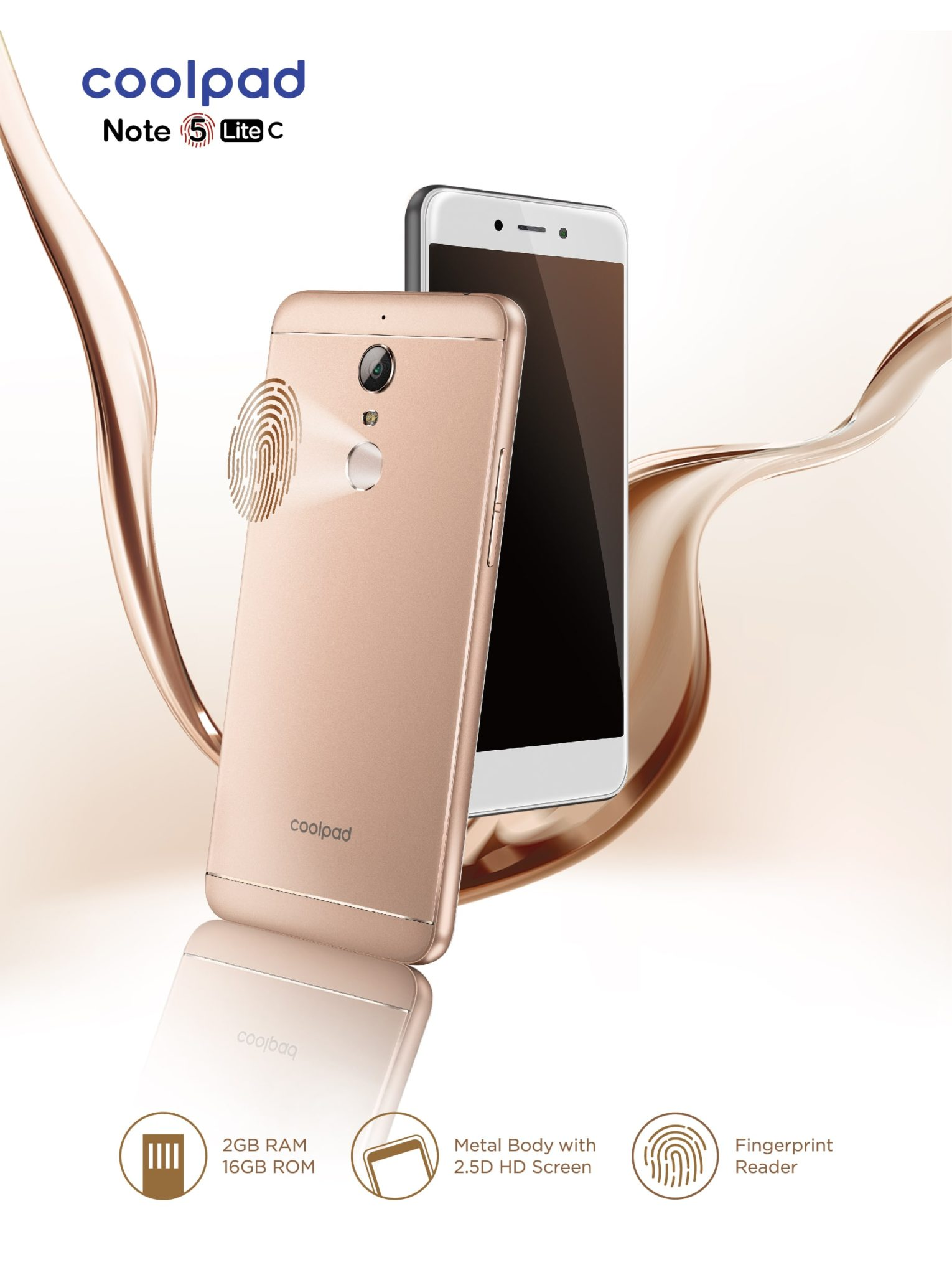 Coolpad launches Note 5 Lite C its first offline with Android 7.1 Nougat